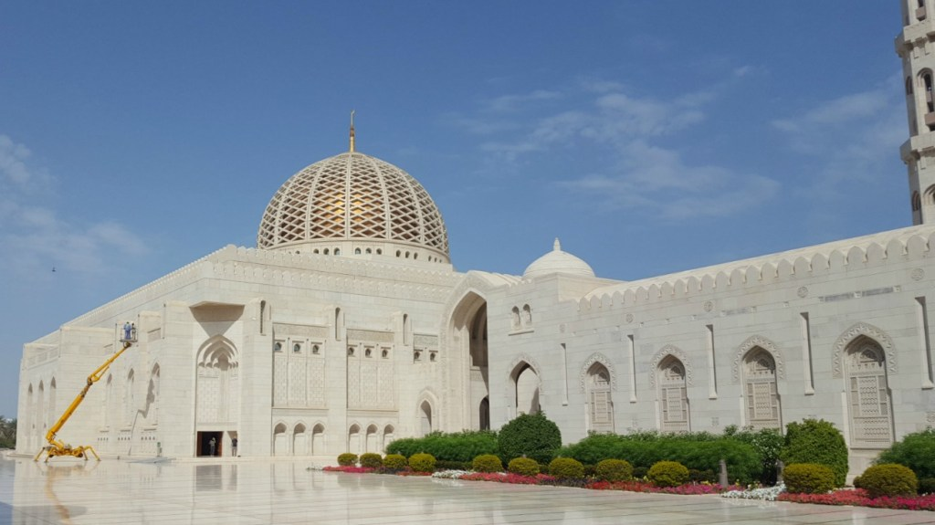 Sultan Qaboos Grand Mosque i Muscat, Oman