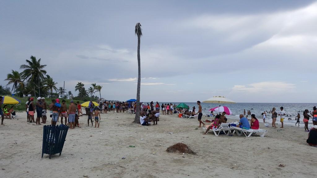 Guanabo strand Cuba