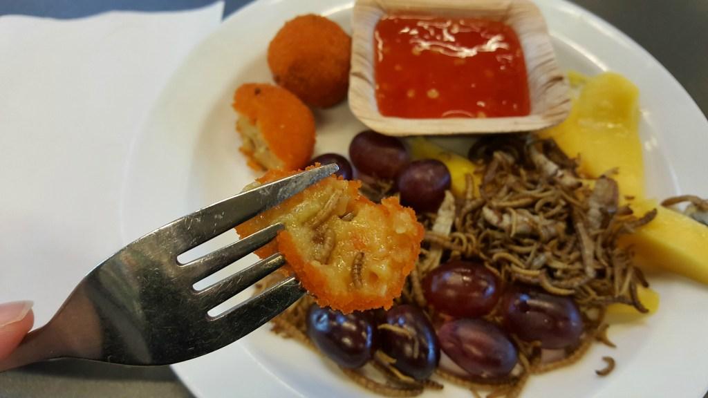 Spiselige insekter i Randers Regnskov
