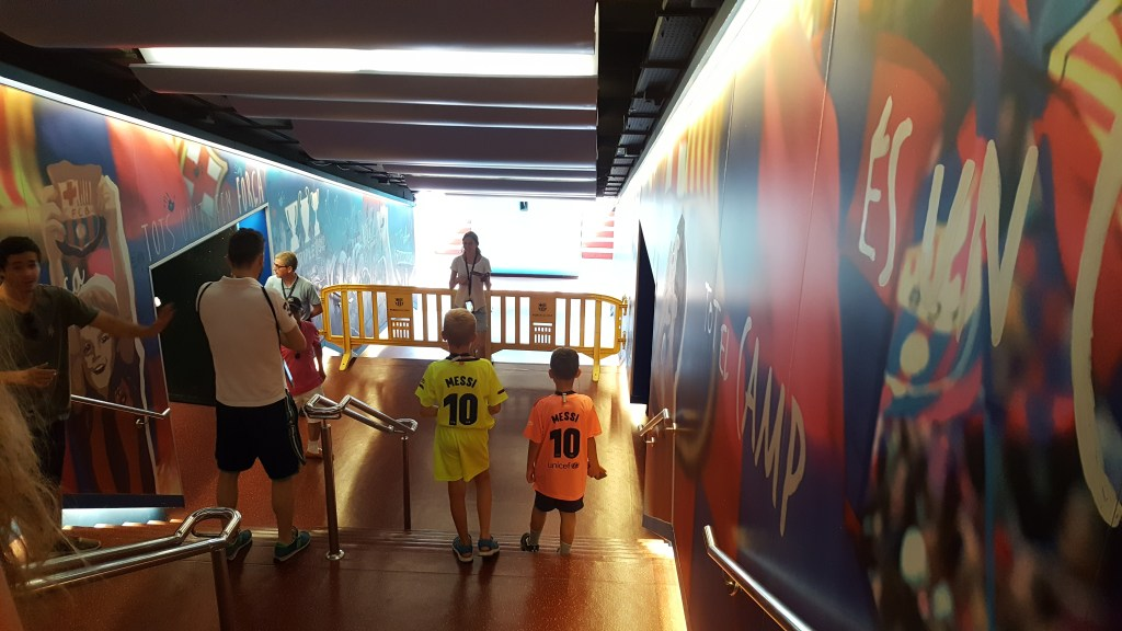 Barcelona_Camp_Nou_Spillertunnel