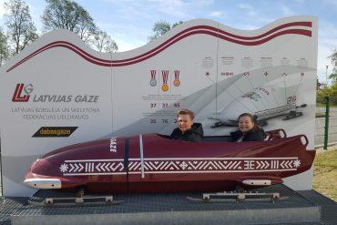 bus fra Riga til Tallinn Bobslædebane i Sigulda 3