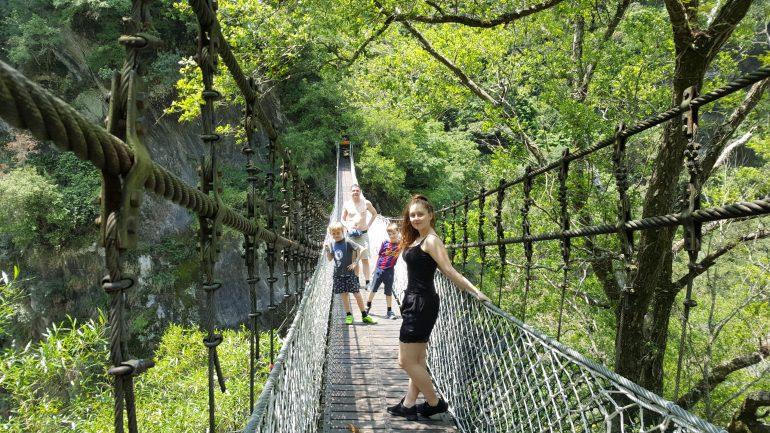 Taroko Gorge Hængebro