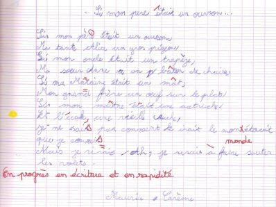 probleme-ecriture-dysgraphie-reeducation-gironde-bordeaux-CE2-après 5 séances