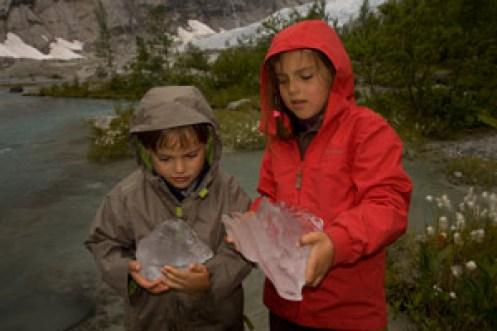 enfants-Norvège voyage en famille