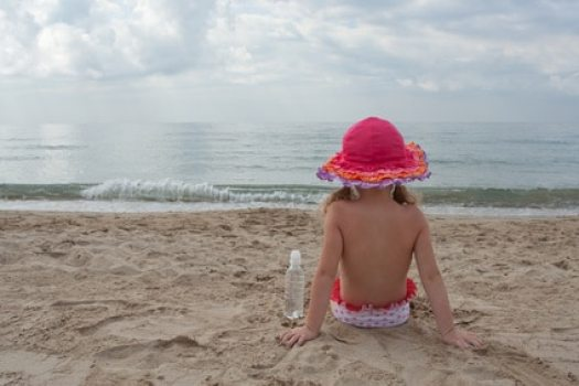 voyage avec enfant plage