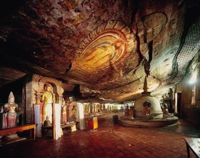 Sri-lanka-voyage-en-famille-Dambula-grotte