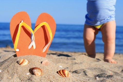 voyage bébé plage