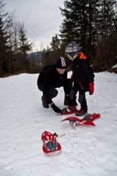 raquette-à-neige-avec-enfant-vercors-alpes
