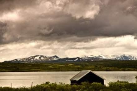 enfant-randonnée-famille-dovrefjell-Norvège