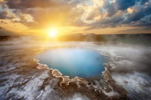 Hveravellir source chaude en islande