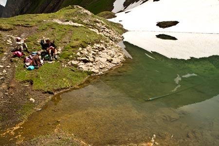aravis-randonnée-famille-enfant-topo-lac tardevant alpes