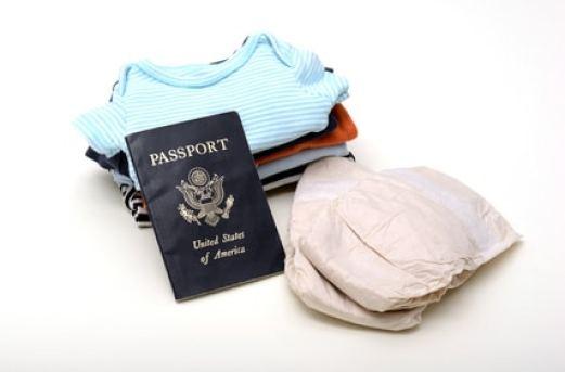carte identité voyage enfant bébé