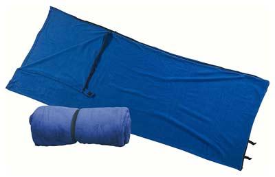 équipement-sac-de-couchage-polaire-camping