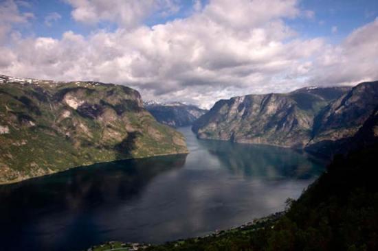 Croisière Fjord-Naerofjord-Norvège