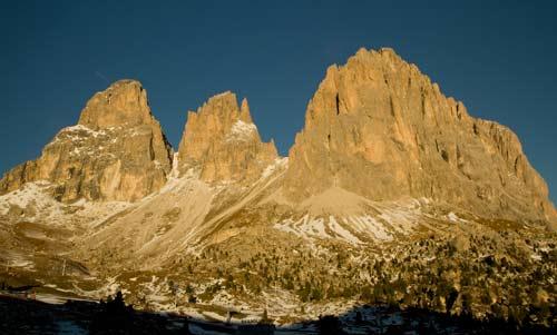 montagnes dolomites en itlaie