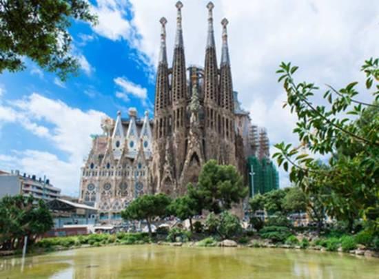 barcelone avec enfants en famille Sagrada-familia