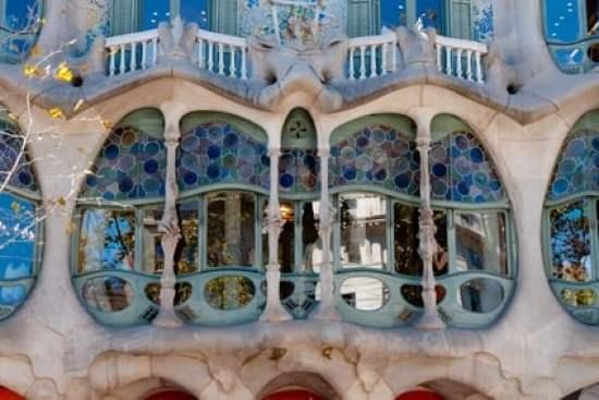 barcelone avec enfants en famille gaudi-casa batllo
