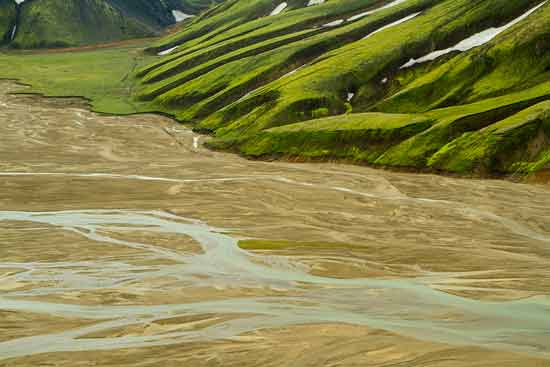 paysage-méandres-Landmannalaugar-Islande