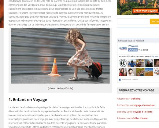 5 blogs qui rendent le voyage avec des enfants possible