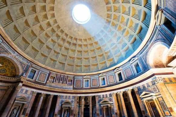 rome avec des enfants et ado panthéon
