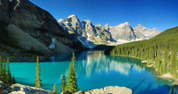 canada en famille lac