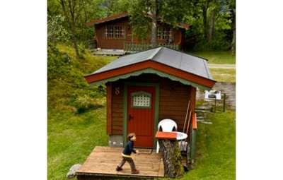 hytter,-cabane enfant-Norvège