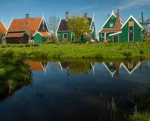 maisons-zaanstad-hollande