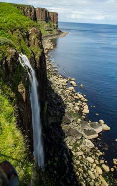 cascade Kilt-Rock-ile-de-skye-écosse