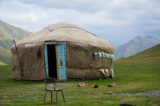 yourte-Kirghizistan