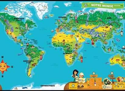 mappemonde-interactive-leapfrog pour enfants
