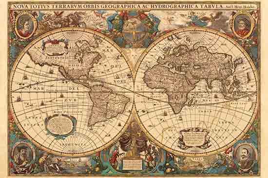 mappemonde-puzzle-antique