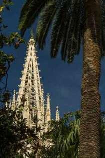 tour-gothique-cathédrale-barcelone