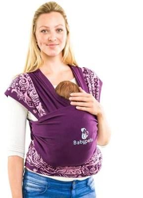 Echarpe-de-portage-bébé