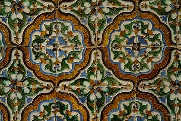 mosaique-casa-de-pilatos-Séville-Andalousie