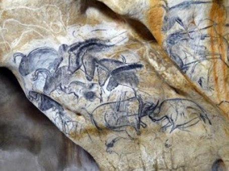 peinture rupestre 'caverne'du'pont'd'arc