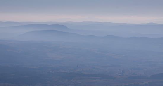 vue du Mourre Nègre dans le Lubéron