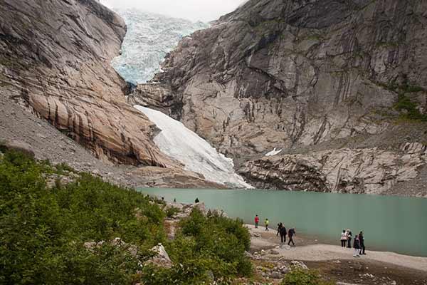 randonnée--Norvège-glacier-Bodalsbreen