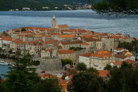 ville-ile-Korcula-Croatie