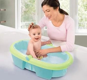 baignoire-nomade-bébé-pliable