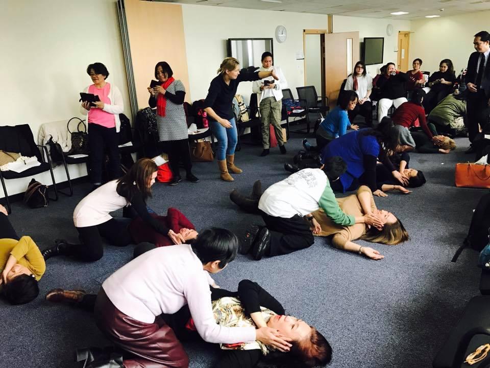 ENFiD-UK Conducts Basic Life Support Training