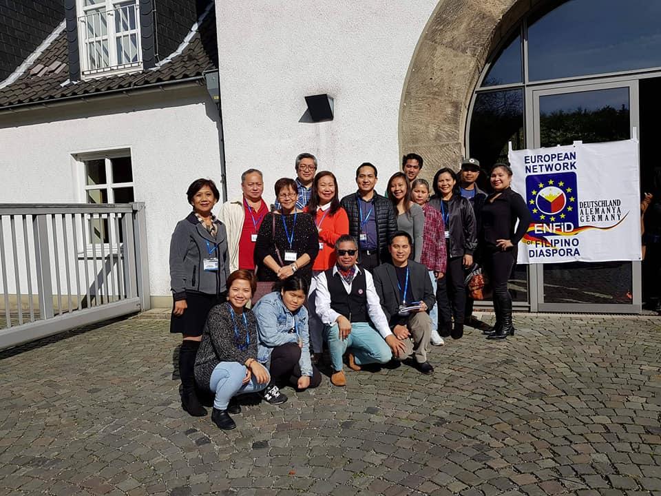 ENFiD-UK Has Largest Delegation to Europewide Filipino Diaspora Forum