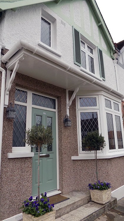Residence 9 Window Installation In Winchmore Hill London