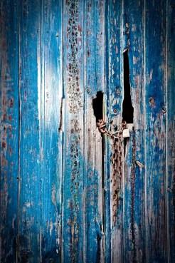 Cadenas en azul