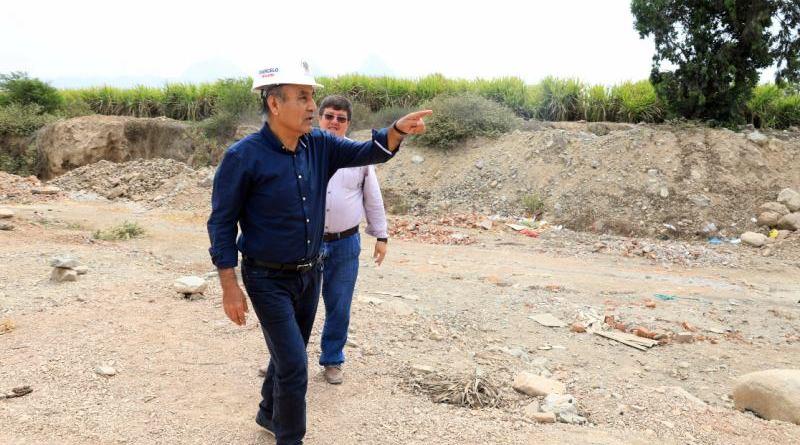 Hoy comienza asfaltado de carretera Cerro Blanco – La Tranca
