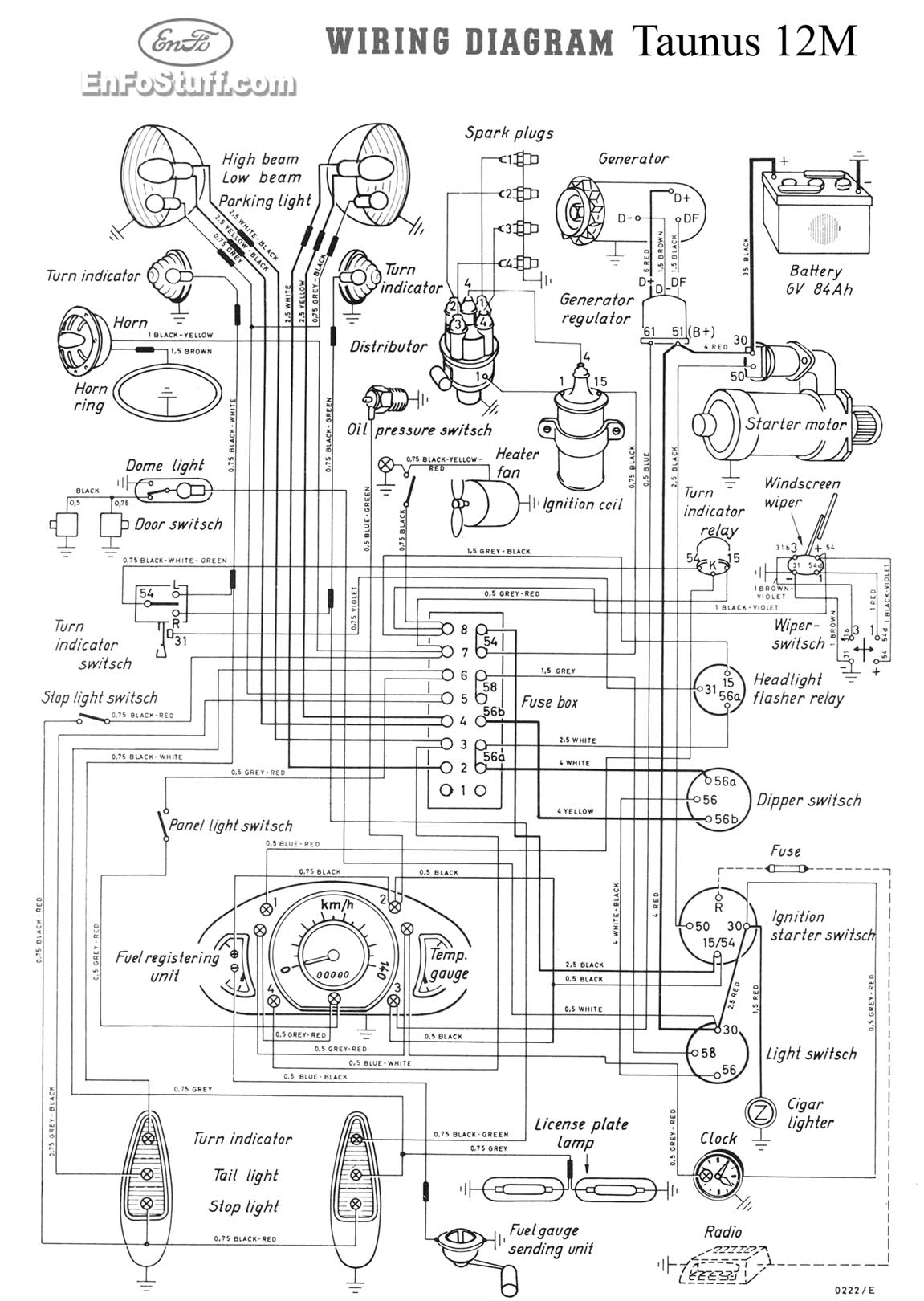 Wiring Diagram Vw Golf 1