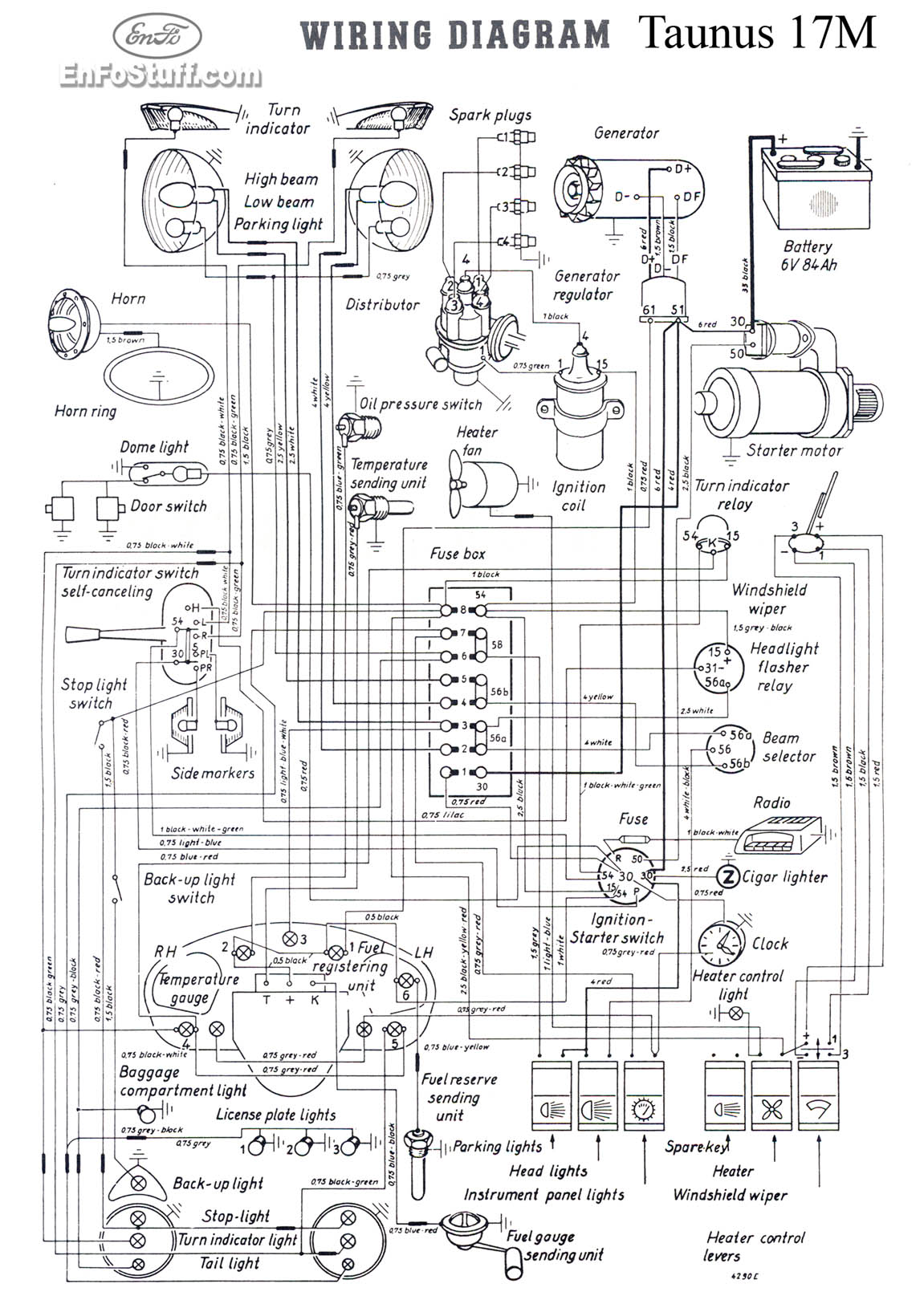 Vw Bug Wiring Diagram