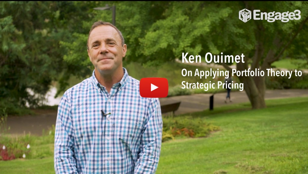 Ken Ouimet on applying portfolio theory to strategic pricing