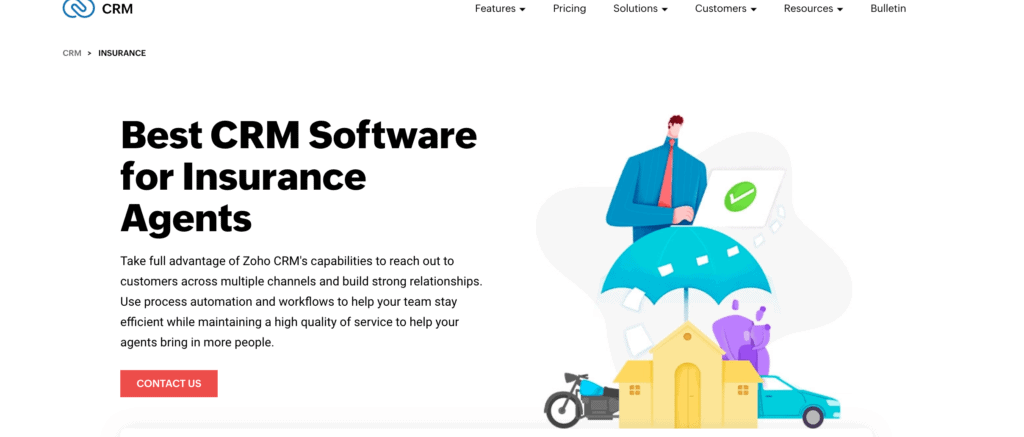 customer relationship management for insurance agencies