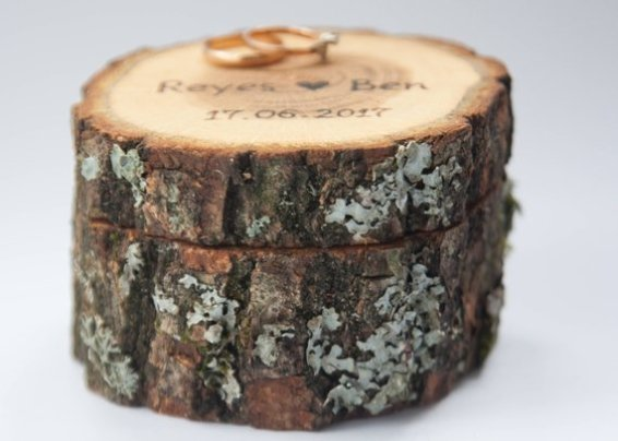 log box with closed lid