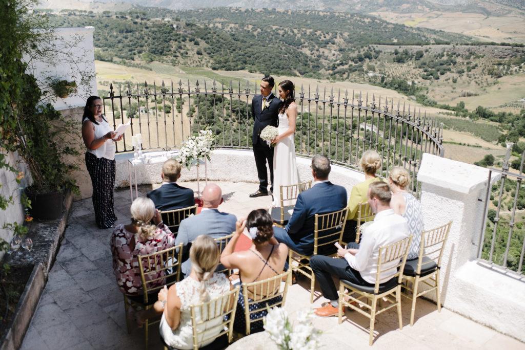 Stunning micro wedding in Ronda